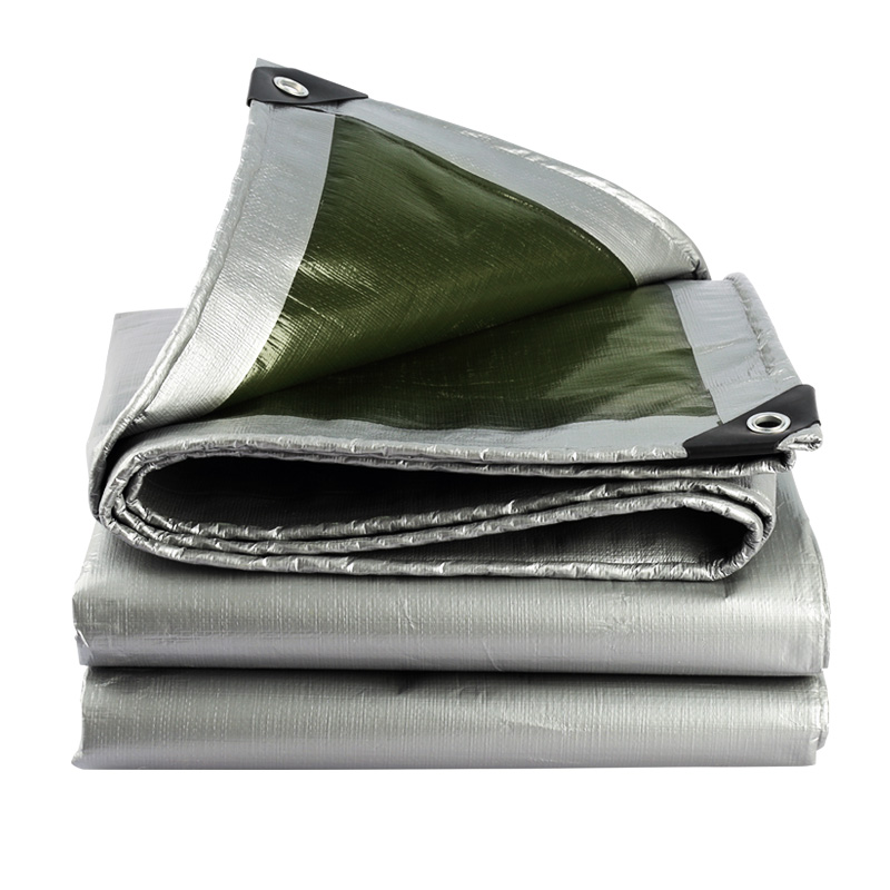 Various Size Extra Thick Outdoor Sun Shelter Protection Cloth Waterproof Sunscreen Tarp With 1pcs Hang