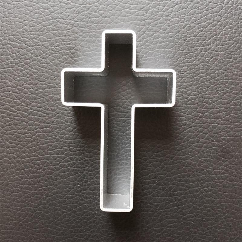 Moule à biscuits en forme de croix | Nouveau, en alliage daluminium, pour Halloween, moule à biscuits