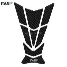 FASP 5D Profissional de fibra de carbono corrida de tanque de combustível Da Motocicleta pad Decalque Adesivo para Benelli Triumph Kawasaki KTM BASÃ BAODIAO