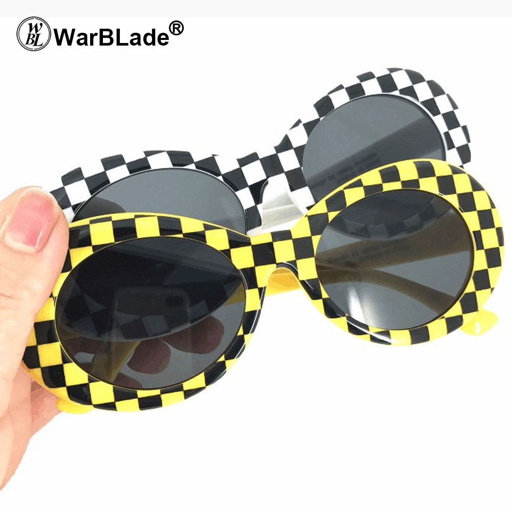 Goggles Kurt Cobain Sunglasses Transparent Clear Lenses Glasses Vintage NIRVANA Oval Eyewear Fashion Classic Sun Glasses