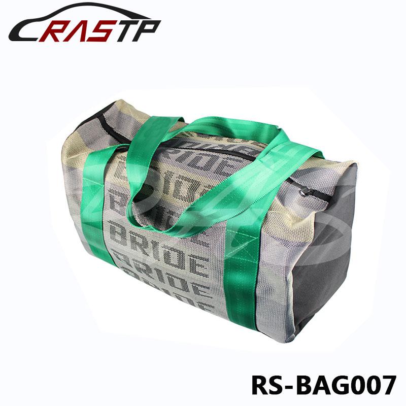 Prix pour JDM Style De Course Mariée Sac À Main Messager Sacs Sac de Voyage Avec Racing Harnais Bretelles RS-BAG007