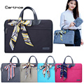 Fashionable Brand Laptop Bag 15.6 14 13 12 11 inch Laptop Case Computer Sleeve Briefcase Women Handbag for Macbook Air Pro Case