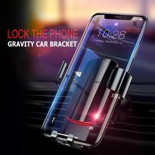 Baseus Car Phone Holder 360 Rotation Mobile Phone Clip Holder Stand Bracket CD Slot Mount Clip Holder for iPhone Samsung