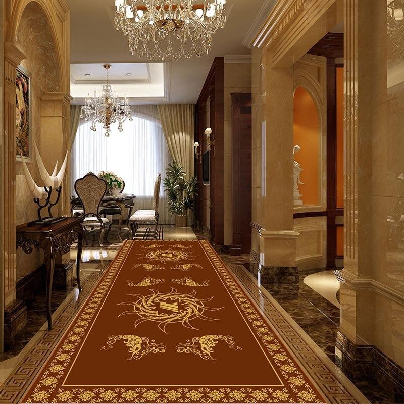 Alfombra de pasillo de escalera grande, tapete de Couloir marroquí, alfombra tapiz para suelo de salón, exterior x interior, Decoración de casa, Hogar Nórdico
