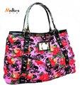 Мода цветок женщины сумку Череп Вырос одного плеча сумки роскошные сумки женщины сумки сумка доллар цена