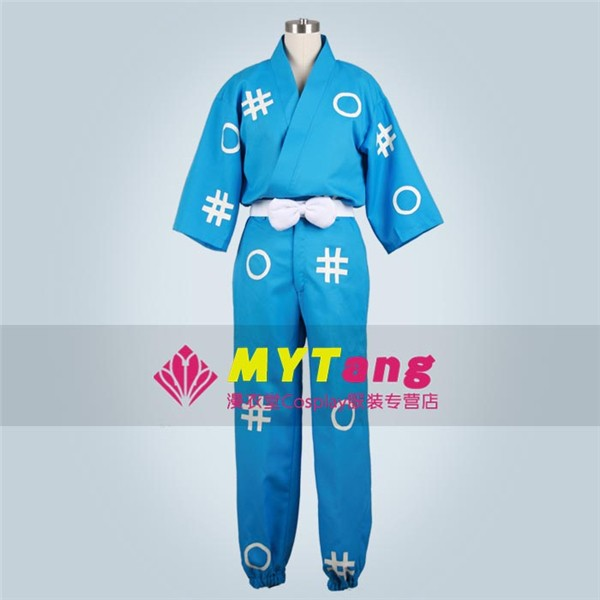 Game Anime Movie Nintama Rantaro Kaminosimaippei Shinbee Cosplay Costume Ninja Blue Kimono Free Shipping