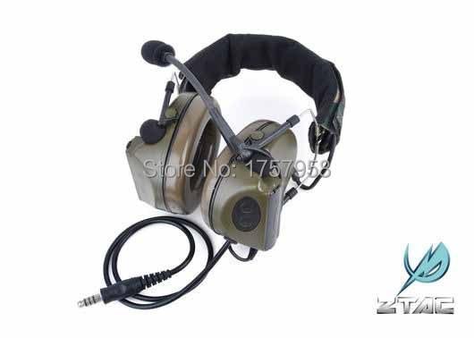 요소 / Z 전술 Comtac II C2 전술용 헤드셋 Airsoft Paintball Hunting 헤드셋 - Z041