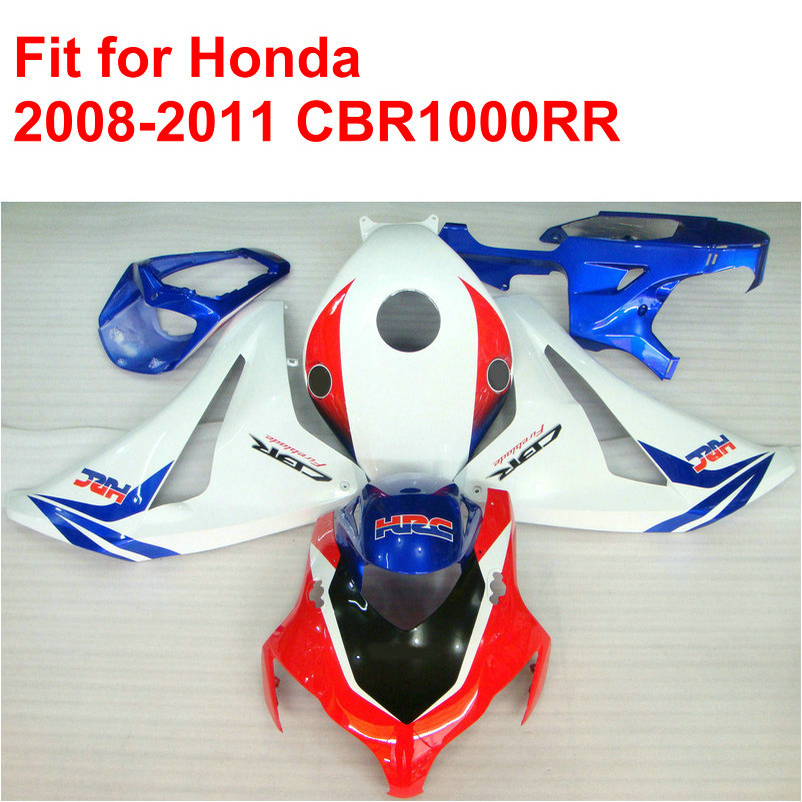 Injection mold fairing kit for HONDA CBR1000RR 2008 2009 2010 2011 CBR 1000 RR 08 09 10 11 white red blue fairings set DF29 arashi motorcycle radiator grille protective cover grill guard protector for 2008 2009 2010 2011 honda cbr1000rr cbr 1000 rr
