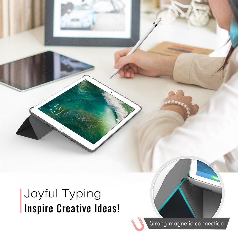 Ультратонкий Магнитный чехол для iPad 9,7 A1822/A1893 умный чехол из искусственной кожи чехол для автоматического сна/пробуждения 6-го поколения