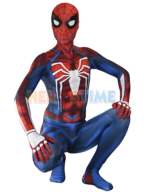 New Insomniac Spider-man Costume PS4 Insomniac Games Spiderman Superhero Costume For Adult/Kids/Custom Made