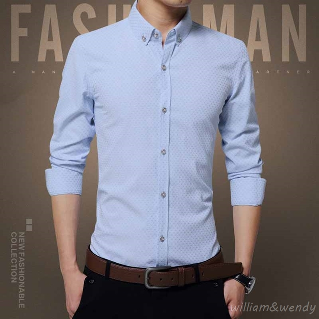 Men White Cotton Slim Fit Plus Size Casual Dress Shirt Camisa Social Masculina Long Sleeve Work Clothing Button Oxford Shirt 4XL