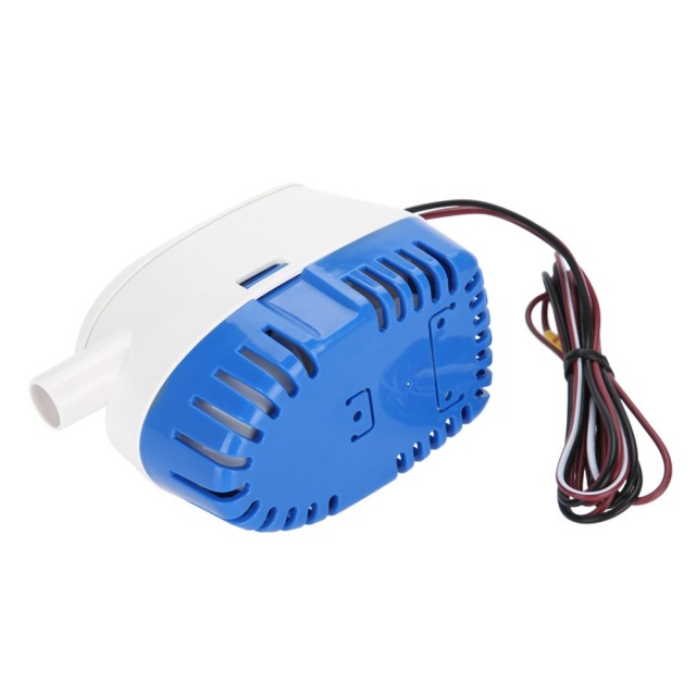 12V 3A Water Pump Boat Automatic Submersible Bilge Water Pump With Float Switch with 100cm Length Cable