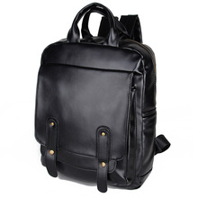 Fashion School Bag For Men Laptop Backpack Leather Book Bag For Teenagers Sports Casual Daypacks Backpack Running Rucksack 2017 new designer canvas men casual daypacks large waterproof male backpack famous brand rucksack school bags for men bag