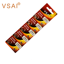 VSAI 10pcs AG1 364 SR621 Alkaline Coin Cell Batteries For Watch Thermometer MP3 1.5V