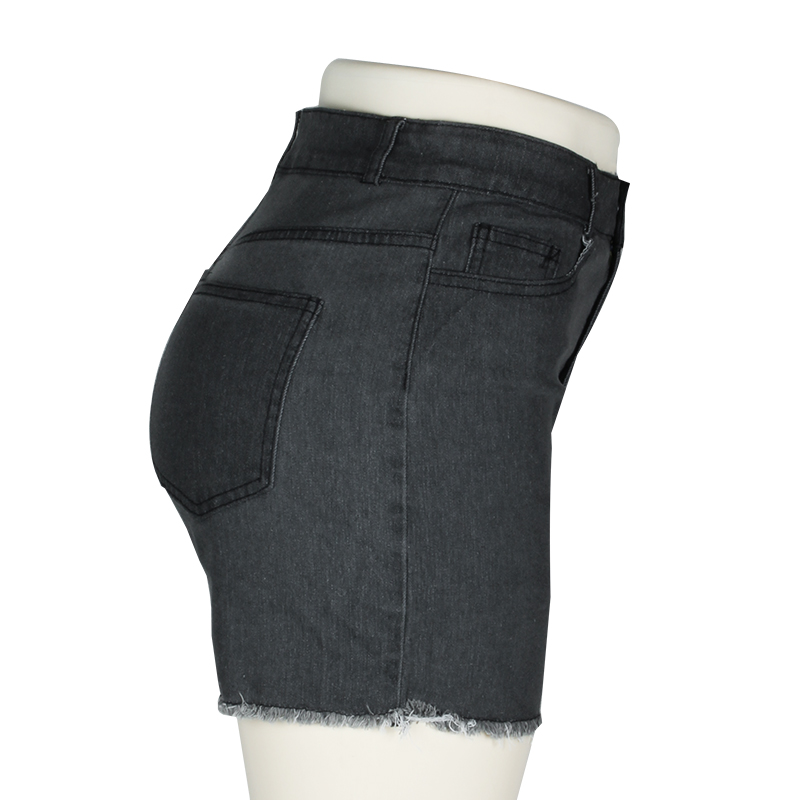 Fashion Women Push Up Skinny Slim Denim Shorts 39