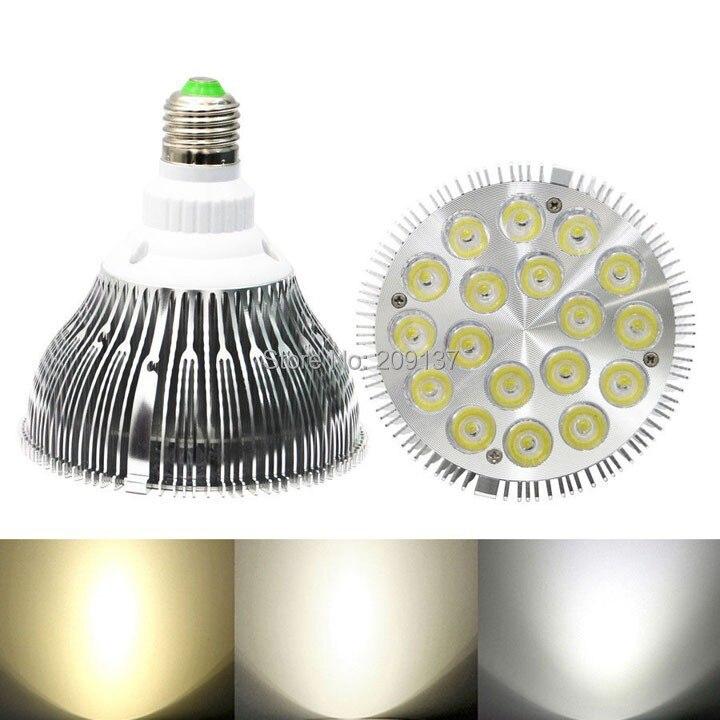 LED Par38 Bulb 36W E27 Par 38 Spot Lighting Indooor high power Bedroom lamp Warm Cold