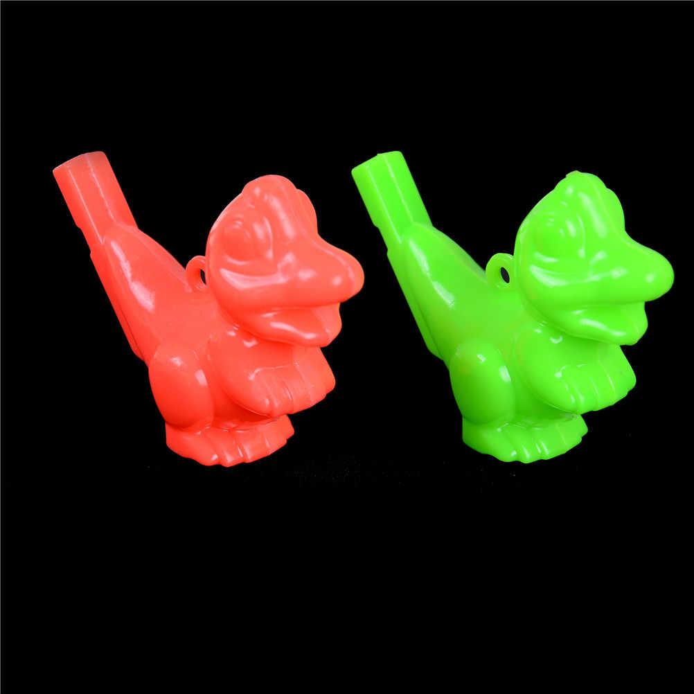2 шт свисток воды интерактивные смешные игры образовательные игрушки мультфильм Животное Динозавр детские инструменты День рождения рождественские подарки