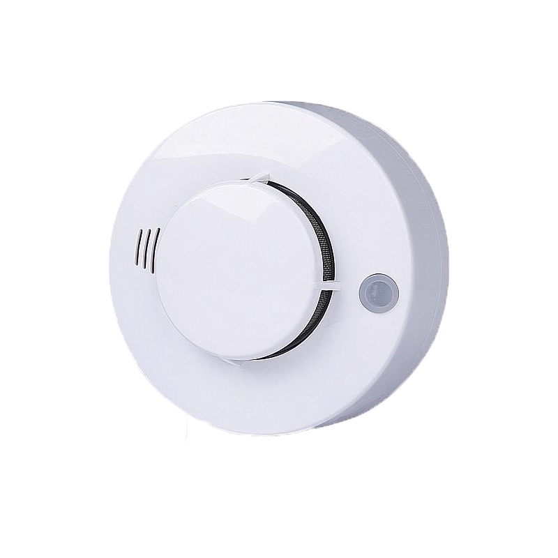 Smoke Detector Wired Photoelectric Smoke Alarm Home Security System Fire Sensor DC 9V-16V King Pigeon SM-02 wireless smoke fire detector for wireless for touch keypad panel wifi gsm home security burglar voice alarm system
