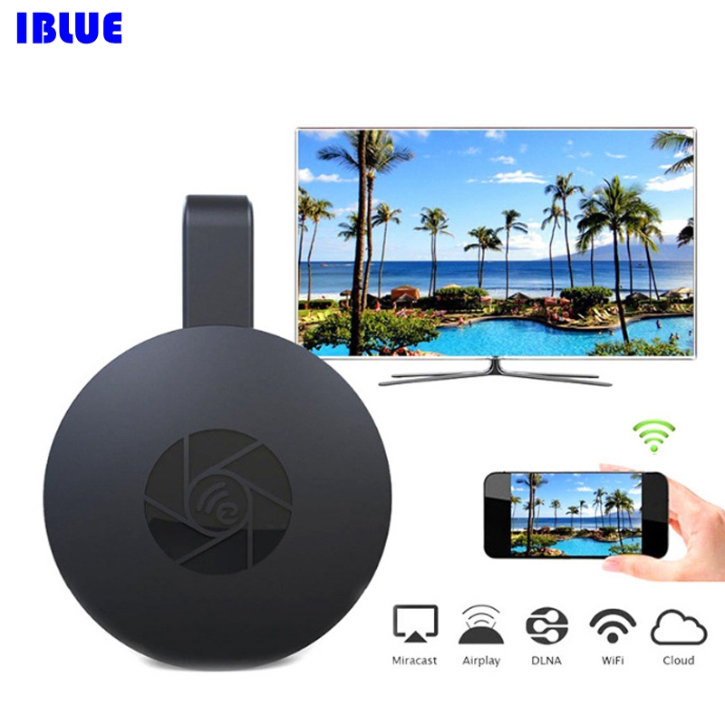 Wifi Display Receiver  PC Mobile Projector With The Same Frequency Switch  HDMI Full HD 1080P