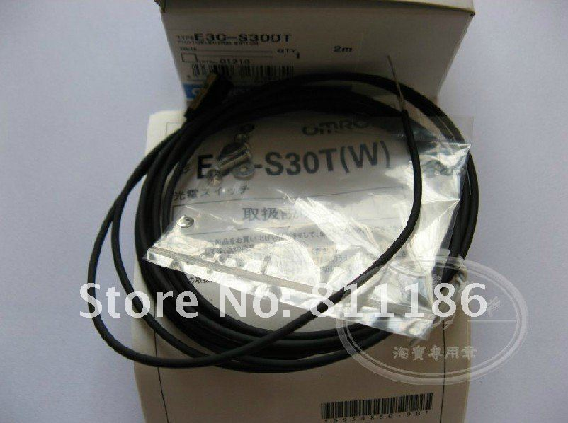 5pcs/lot  Photoelectric switch E3C-S30W  is new in stock 5pcs lot proximity switch e2e x5me1 m1 is new in stock