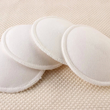 Фотография New Arrival 4 Pcs Anti Overflow Breast Pads Maternity Women Nursing Bra Washable Breast Pad