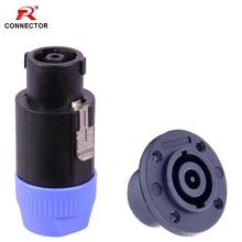 1set 8pins Speak-on Connector Speaker NL8 Loudspeaker Amplifier Adapter speak-on Male Plug&Female Jack ac110v 8pins
