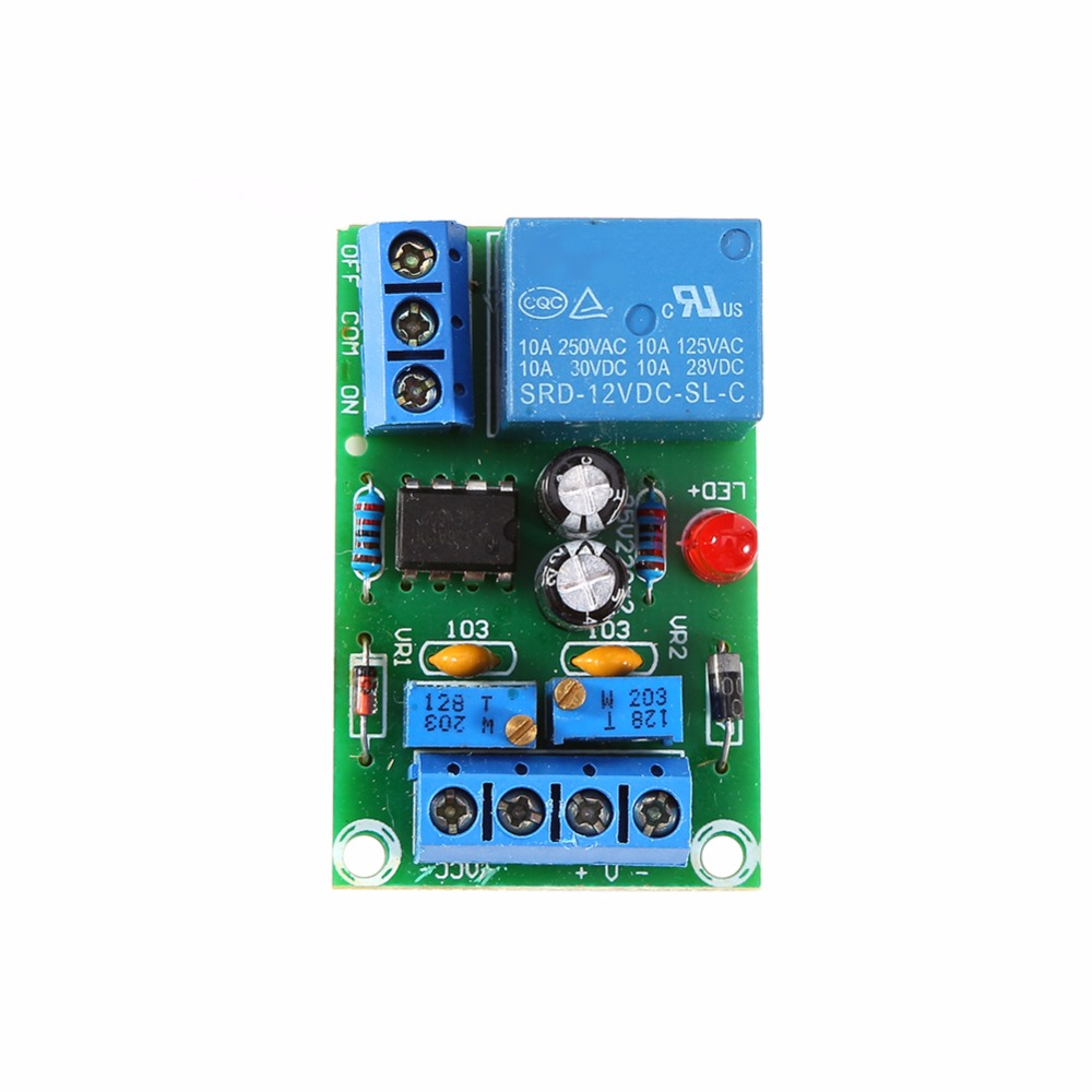 US $3 11 37% OFF|VBESTLIFE 12V Battery Automatic Charging Controller Module  Protection Board Relay Board-in Solar Controllers from Home Improvement on