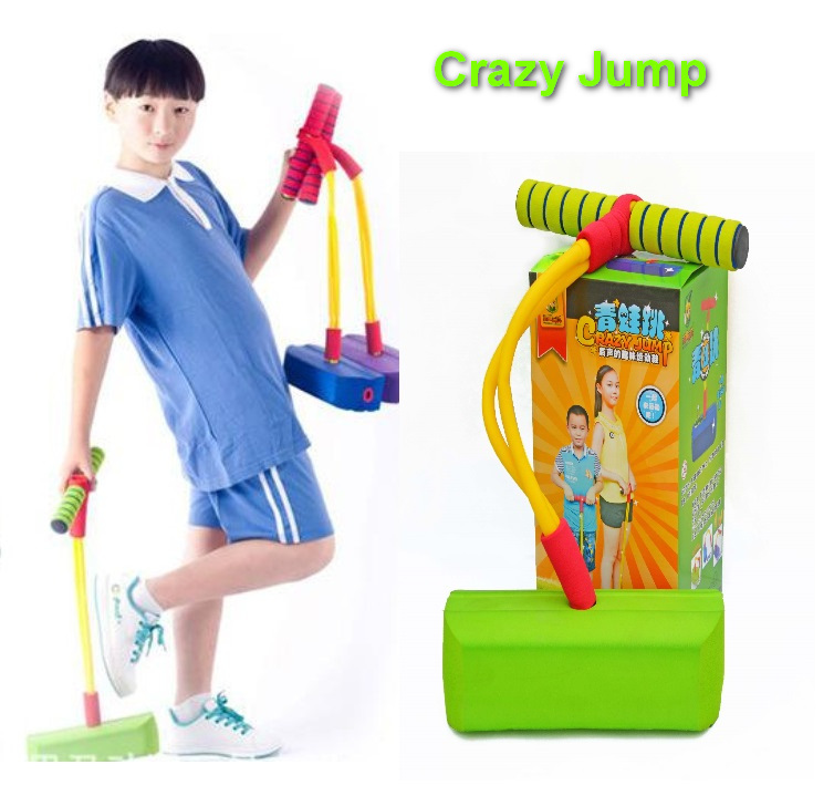 High Quality Crazy Jumping Bounce Shoes Jumping Stilts Toy