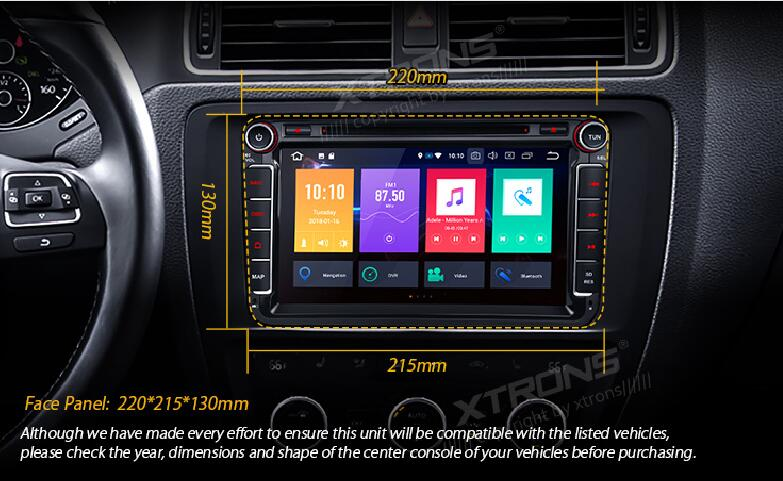 2 Din 8 Android 8.0 Octa Core Car DVD Player Radio for vw Volkswagen Golf Passat Touran Tiguan Sharan Magotan Skoda Seat