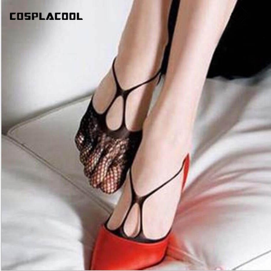 [COSPLACOOL]New Korea Dress Sexy Women/Ladies Socks Sandals/High Heels Fishnet Sokken Socks Hosiery Students Calcetines Mujer So