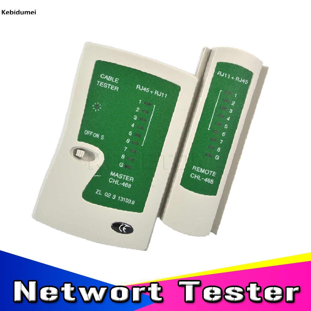 kebidumei rj45 rj11 rj12 cat5 utp wire telephone line detector tracker handheld lan network cable tester networking tool in networking tools from computer  [ 1000 x 1000 Pixel ]