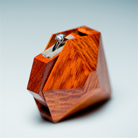 Top Grade Wedding Ring Box Handmade Custom Jewellery Box Boite A Bijoux Boite Cadeau Sieraden Doos Jewelry Boxes Ring Box