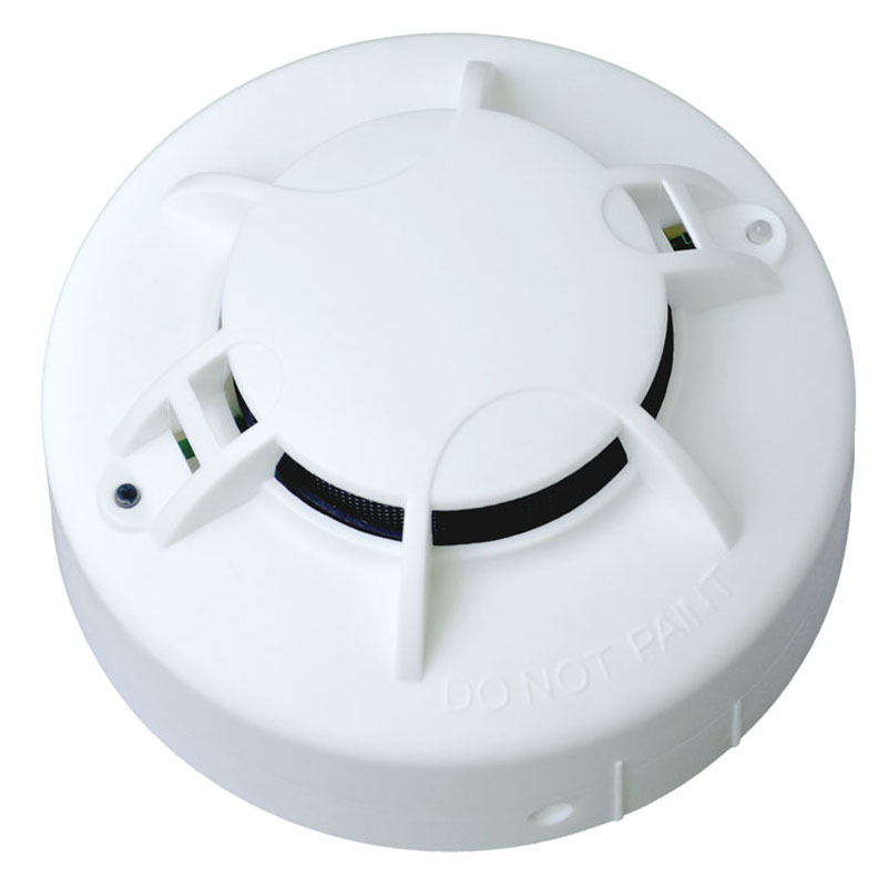 home safe Battery Powered dc 9v Smoke Alarm Photoelectric AC 110-270v Optical Smoke Detector DC9V &AC smoke detector