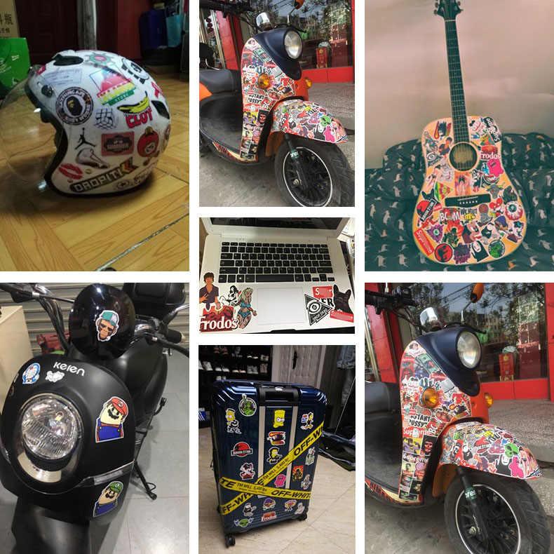 Siyah göz yok güven herkes sticker serin su geçirmez dizüstü bavul gitar bagaj kaykay bisiklet oyuncak moto çıkartmaları
