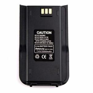 Image 2 - 100% Оригинальный TYT MD 380 двухсторонняя радиостанция DMR, литий ионный аккумулятор, цифровой Tytera MD380 Walkie Talkie 7,2 V 2000mAh Transceiver