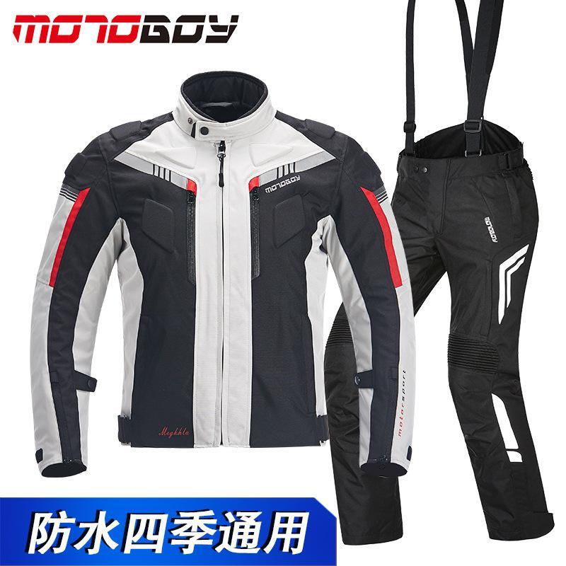 Hommes imperméable Moto veste/Motocross résistant au froid pantalon de course costume protecteur Moto vêtements ensemble Moto accessoires