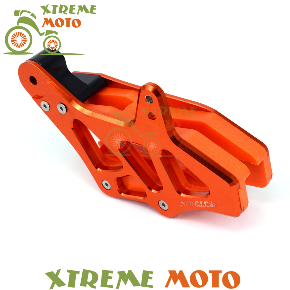 Rear Chain Guide Guard Protection Slider For KTM EXC EXC-F SX SX-F XC XC-F XC-FW XC-W 125-530 2008-2015 Motocross Motorcycle billet cnc rear brake disc guard w caliper bracket for ktm 125 450 sx sx f smr xc xc f 2013 2014 2015 2016