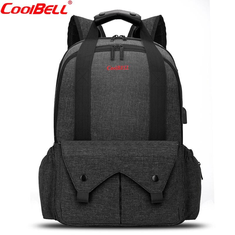 CoolBell bébé couches sacs grande capacité Nappy sac à dos haute qualité poussette sac comprennent matelas à langer pour maman bébé sac