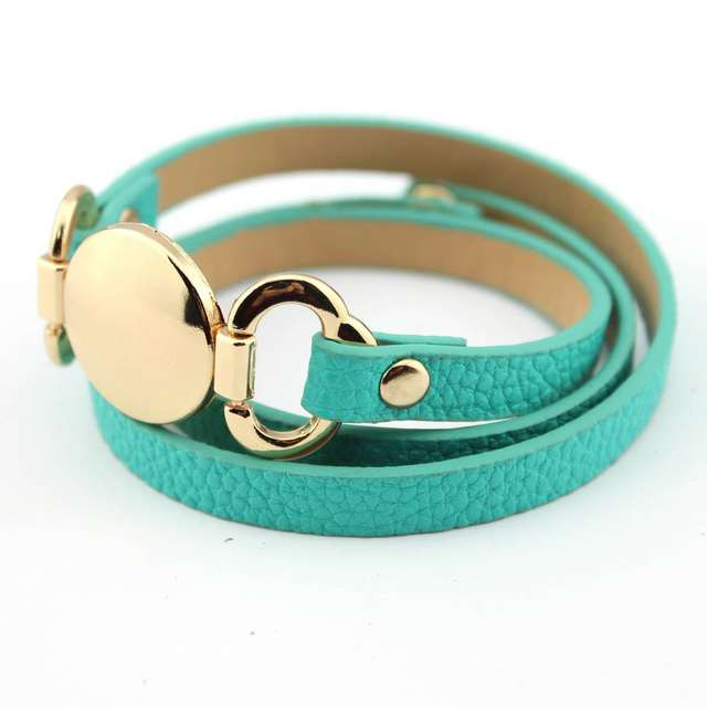 B1788Gold Turquoise