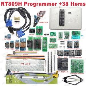 Image 5 - Freies verschiffen Ursprüngliche RT809H EMMC Nand FLASH Extrem schnelle Universal Programmierer + 38 Artikel + Edid Kabel MIT KABELN EMMC Nand