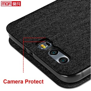 Image 5 - flip case for Huawei honor 9 case stand Honor 9 Cover leather back silicon book Mofi glitter luxury huawei honor 9 case business