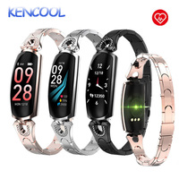 Smart Watch, KENCOOL Fitness Tracker With Heart Rate Blood Pressure Sleep Monitor Ladies Jewelry Health Tracker Women Kids Girls
