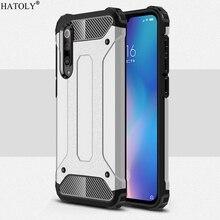 Cover Xiaomi Mi 9 SE Case For 8 Silicone Rubber Shockproof Armor Bumper Phone Redmi Note 7