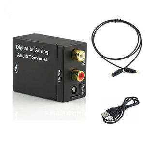 Digital To Analog Audio Converter For DVD TV Home Theater Digital Optical Coaxial