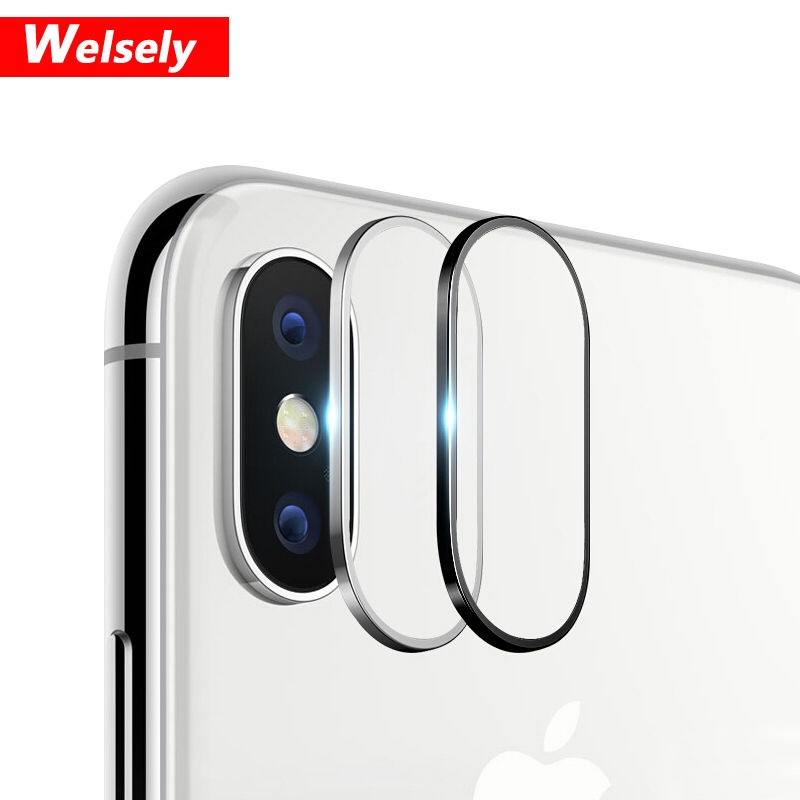 Accessori X Phon.Us 7 99 10pcs Welsely Rear Camera Lens Protective Ring Cover Protector Protection For Iphone X Xs Max Metal Case Luxury Phone Accessori In Fitted
