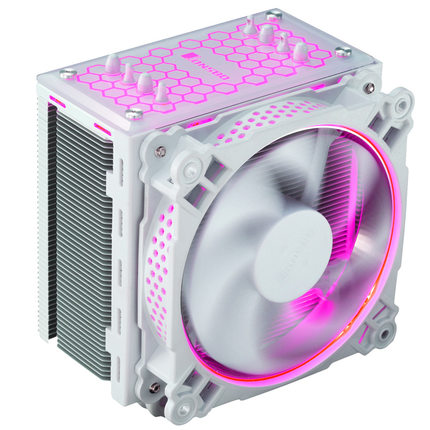 Jonsbo CR-201 CPU Cooler /4 heat pipe / intelligent temperature control / 12CM light fanJonsbo CR-201 CPU Cooler /4 heat pipe / intelligent temperature control / 12CM light fan