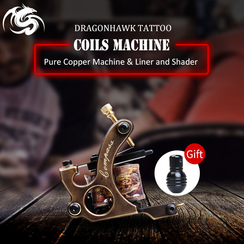 High Quality <font><b>Coil</b></font> <font><b>Tattoo</b></font> <font><b>Machine</b></font> Warp <font><b>Coil</b></font> Light Weight <font><b>Tattoo</b></font> Guns For Shader&<font><b>Liner</b></font> Coloring Lining <font><b>Tattoo</b></font> <font><b>Machines</b></font> Beginner image