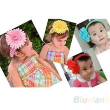 Hot Cute 1.5″ Crochet Headbands Hair Head Band Bow Kid Baby Girl Accessories Toddler Novelty  0JF7 BD3A