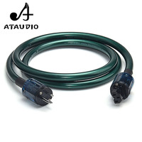 ATAUDIO أورينت ايفي كابل الطاقة معنا المكونات عالية الأداء الطاقة الحبل إلى مكبر للصوت ، CD لاعب ، DAC