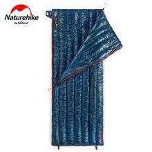 Naturehike Envelope Sleeping Bag Outdoor Travel Duvet Adult Camping Hiking Ultralight Goose Down Sleeping Bags NH17Y010-R все цены